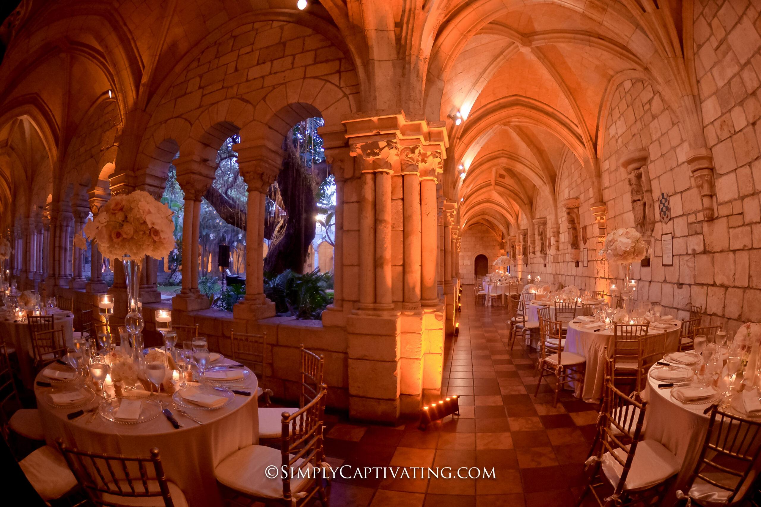 Spanish Monastery Wedding Venue in Miami